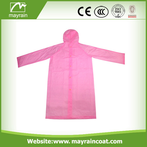 PVC Raincoat for Riding