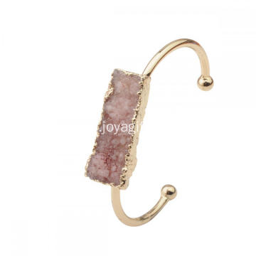 Fashion Clear Cube Crystal Bracelets for Women Jewelry Wholesale High Quality