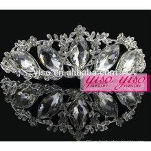 El desfile de Navidad corona la moda europea decorativos peines de pelo de la boda