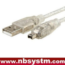 3x 6 '1.8m USB 2.0 a IEEE 1394 4pin Cable FireWire DV