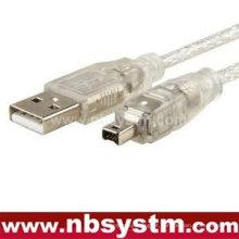 3x 6 '1,8 m USB 2.0 para IEEE 1394 4 pinos cabo FireWire DV