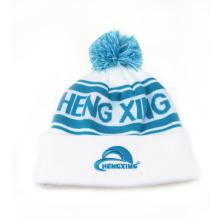 Meninas de malha de inverno chapéus cordas