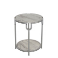 Fashion simple living room marble top side table