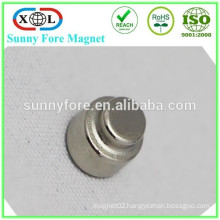 nickel plated magnets stepped disc