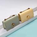Clutch Messenger Sling Bag with Metal Ring Lock