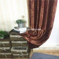 Fleece Large Jacquard Blackout Window Curtain