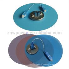 Цветная волоконно-оптическая полировальная пленка, 1um 3um 9um волокна притирочные пленки диаметром 127 мм
