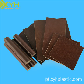 Folha laminada do papel de Phenolic de Brown 3021B