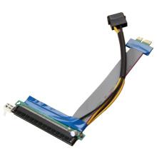 Tarjeta elevadora PCI-E con cable de cinta plana