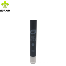 10ml noir petit tube en plastique transparent avec longue buse