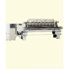 "118""C 2 rows computerised lock stitch multi needle shuttle quilting machine"
