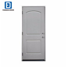 Fangda lowest price utility steel entry door