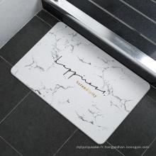 accessoires de salle de bain antidérapants en diatomées