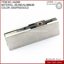 Accesorio del remiendo de la puerta de cristal del acero inoxidable 304