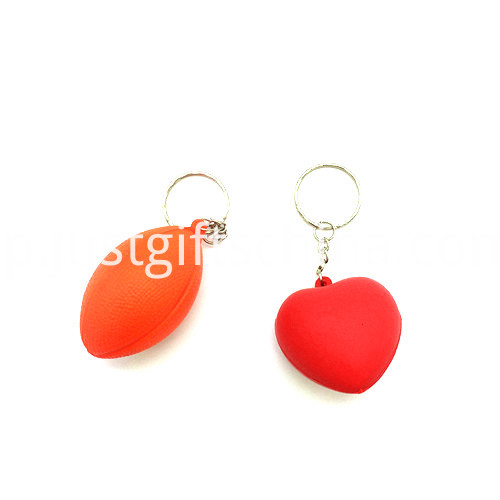 Promotional Stress Balls Key Chain2