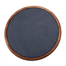 Marble & Wooden lazy susan