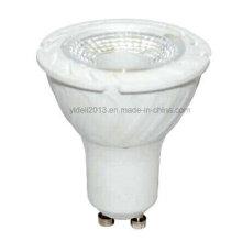 5W GU10 / E27 / E14 / 220V AC / 430lm / 38 degrés / fait de plastique + corps en aluminium LED ampoules de projecteur
