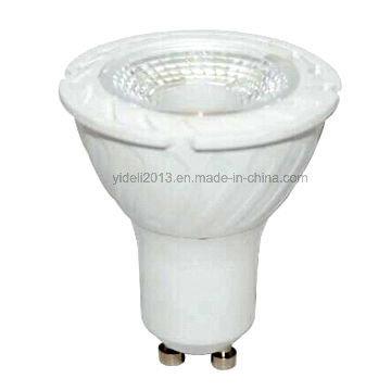 5 Watt GU10 / E27 / E14 / 220 V AC / 430lm / 38 Grad / aus Kunststoff + Aluminium Körper LED Scheinwerferlampen