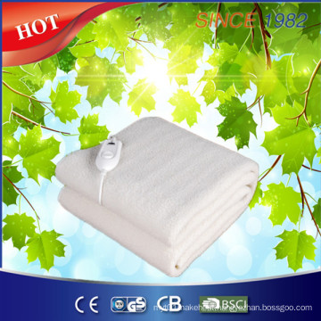 New Synthetic Wool Fleece Heated Blanket with Four Heat Setting