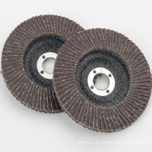 Discos de aleta de óxido de alumínio calcinado para moedor de ângulo