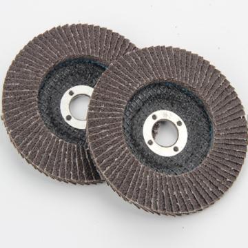 Discos de aleta de óxido de alumínio calcinado para rebarbadora