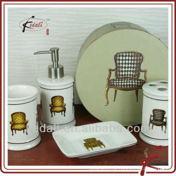 Steinwaren Badezimmer Set