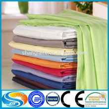Cetim stripe dobby sheeting tecido para hotel