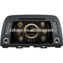 Shock prix wince système haute définition voiture médias pour Mazda 2014 6 / CX-5 avec Bluetooth / IPOD / GPS / 3G