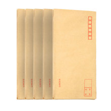 Custom recycled and durable handmade tracing paper envelope for postcard/letter mailing