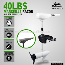 New Marine 40lbs thrust Electric trolling motor for boat White salt water