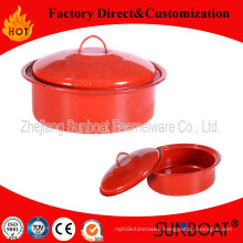 Traditional Enamel Stock Pot Kitchenware
