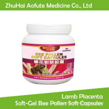 Lamb Placenta Soft-Gel Bee Pollen Soft Capsules