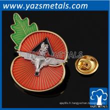badges personnalisés de pavot badges personnalisés