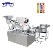 Vitamin C Fully Automatic Effervescent Tablet Wrapping And Tube Filling Machine