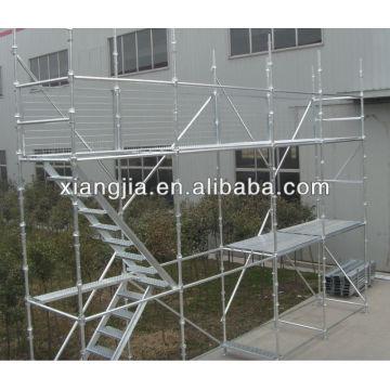 Sistema galvanizado sumergido caliente de Scafolding / andamio del sistema de Scafolding