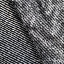 Конопляная / хлопчатобумажная пряжа окрашенная трикотажная ткань