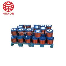 Enroulement de bobine de cuivre émaillé de calibre AWG à fil magnétique