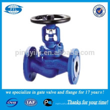 Din Cast Iron Bellow Sealed Globe Valve Pn16