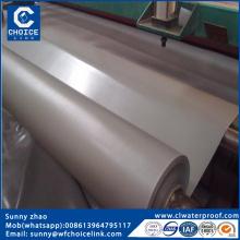 Homogenous pvc waterproofing membrane for roof