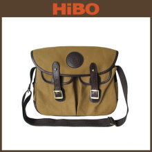 Tourbon 2016 Canvas and Leather Sports Fishing Lure Tackle Bag