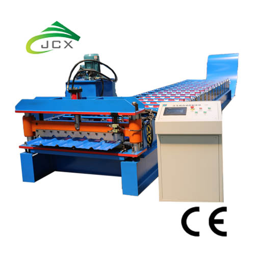 Trapezoidal Roof Machine