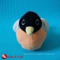super soft plush sparrow
