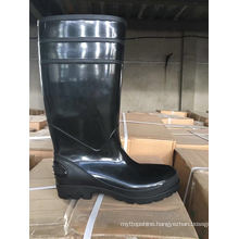 PVC Rain Boots for Women, High Heel Fashion Rain Shoes