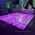 Iluminação led portátil de pista de dança programável