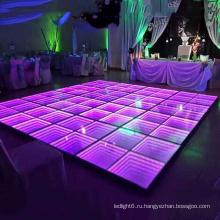 Программируемое светодиодное портативное светодиодное освещение танцпола