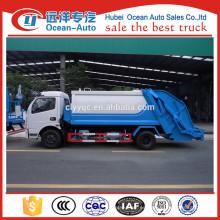 Dongfeng 10m3 barato compresión vehículo de basura