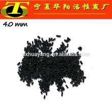 Meida de carbón activado negro para purificación de filtro de aguas residuales