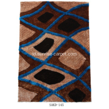 Tebal Sutra Shaggy Area Rug