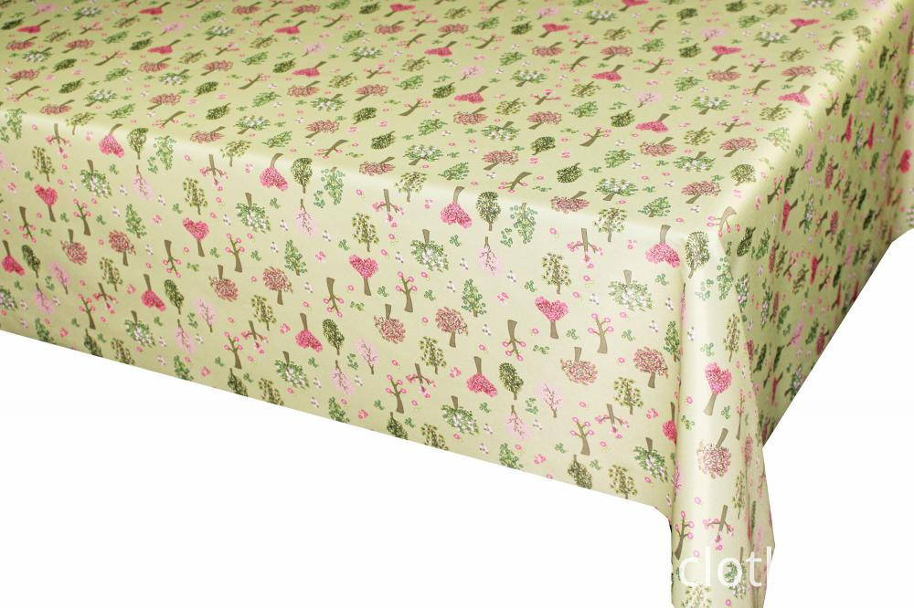 Anti-oil printed fabric Tablecloth