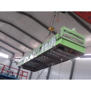 Máquina formadora de telhas de metal